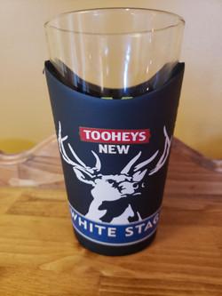 Tooheys White Stag Pint