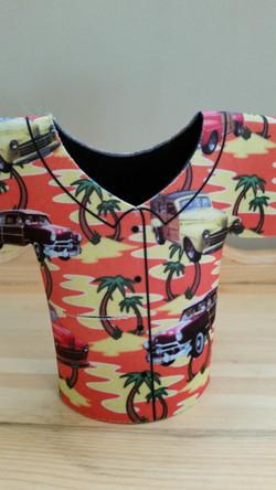 Hawaiian Shirt bottle kooz