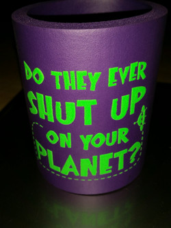 Shut Up On Your Planet