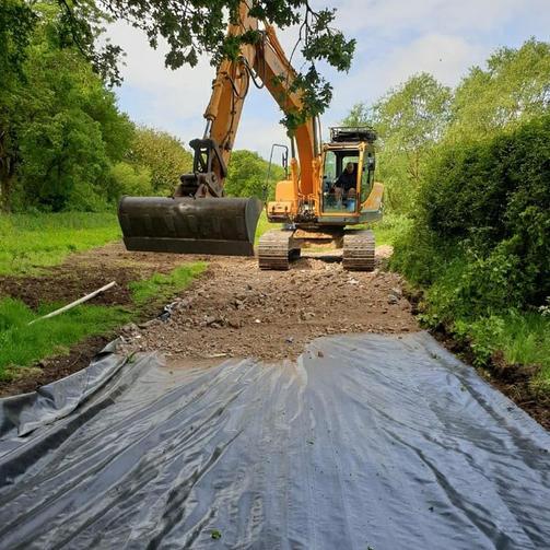 Farm track construction