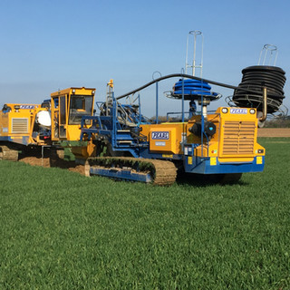 Agricultural Land drainage Trencher