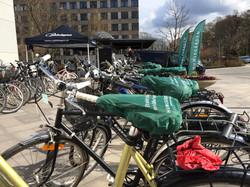 Cyklar får nytt liv och sadelskydd