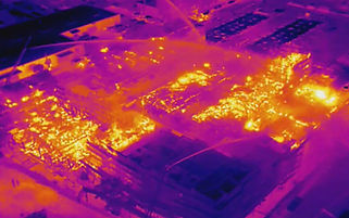 Drone-with-thermal-camera-shows-hot-spot