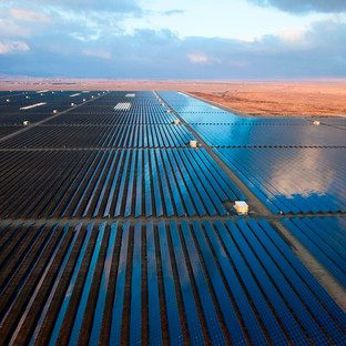 solar farms and renewable power