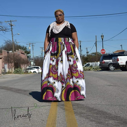 Custom Maxi Length Skirt