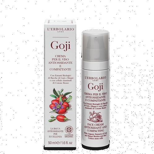 Crema Viso Antiossidante e Compattante Goji
