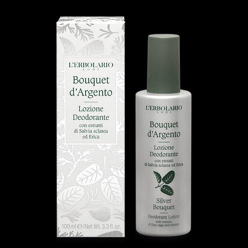 Lozione Deodorante Bouquet d'Argento 100ml