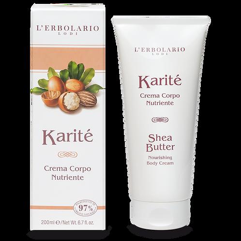 Crema Corpo Nutriente Karité 200ml