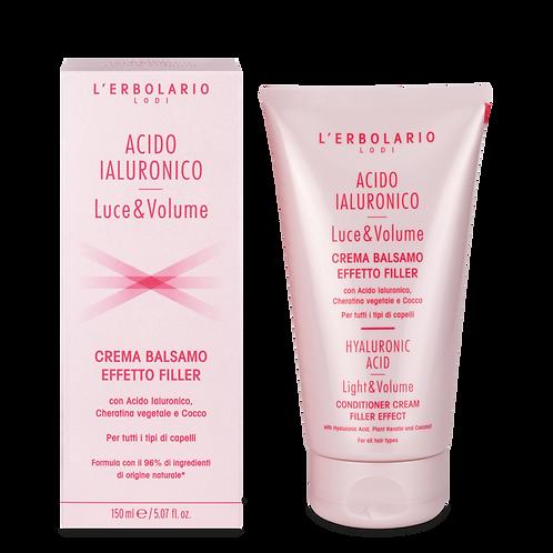 Crema Balsamo Effetto Filler Acido Ialuronico Luce&Volume
