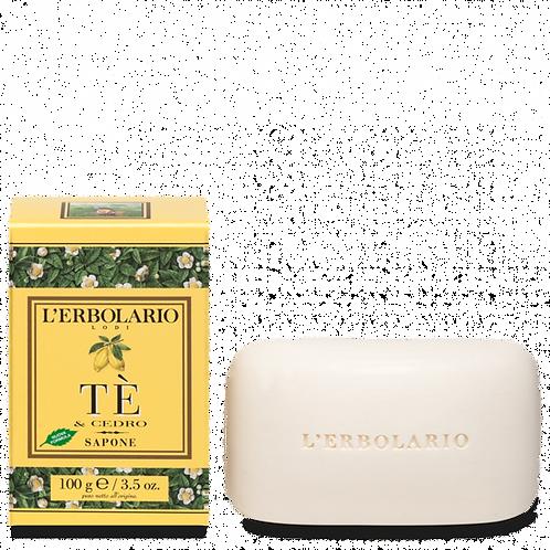 Sapone Tè & Cedro 100g