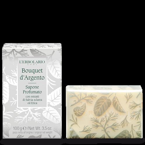 Sapone Profumato Bouquet d'Argento 100g