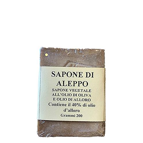 Sapone di Aleppo 200g 40%