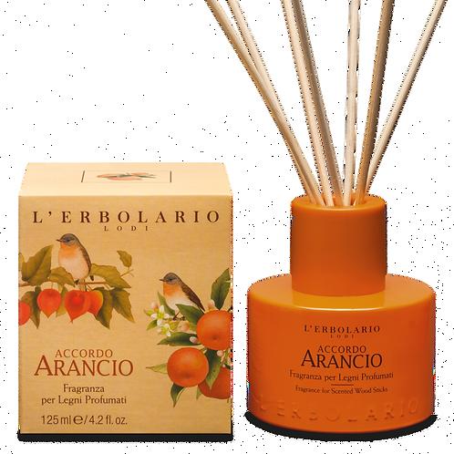 Fragranza per Legni Profumati Accordo Arancio 125ml