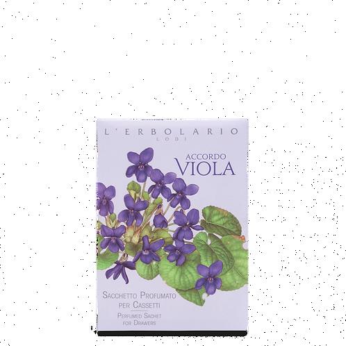 Sacchetto Profumato per Cassetti Accordo Viola