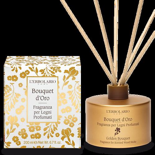 Fragranza per Legni Profumati Bouquet d'Oro 200ml