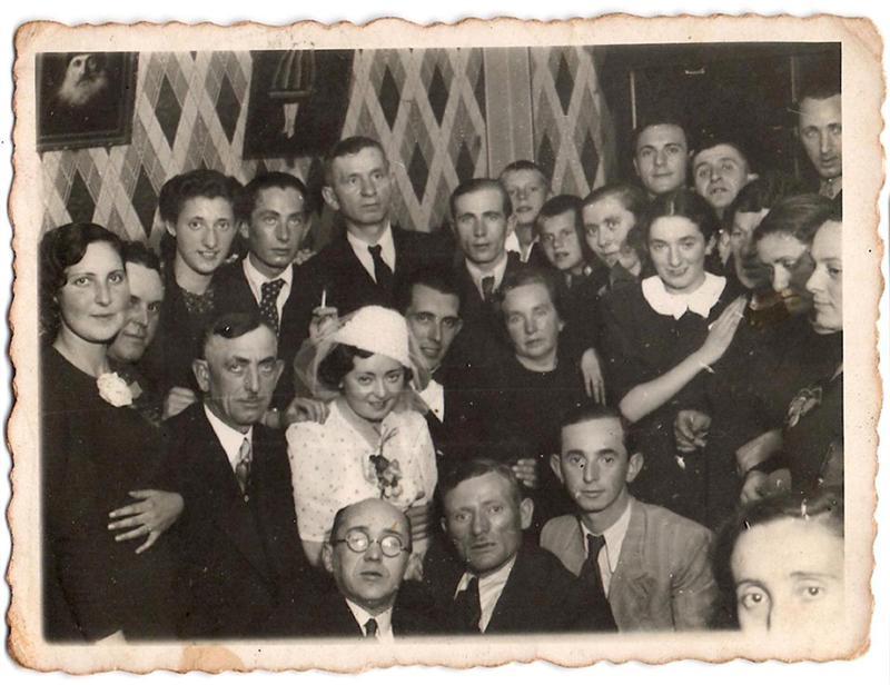 חתונת סלה והרשל 1938 - Sala and Hershel wedding .jpg