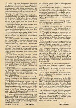 German law to creat getto in Kielce 2