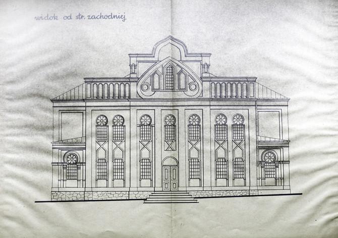 תוכניות בית הכנסת המרכזי בקילצה