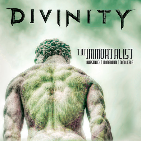 "New DIVINITY album out now! Lyric videos ""Distorted Mesh"" & ""PsyWar"" availab"