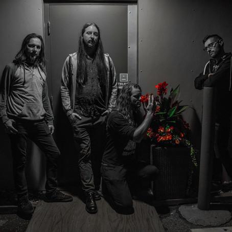 "Edmonton's SLEEPING IN TRAFFIC premiere ""Exoplanets"" guitar/bass/keys playthrough via GearGods"