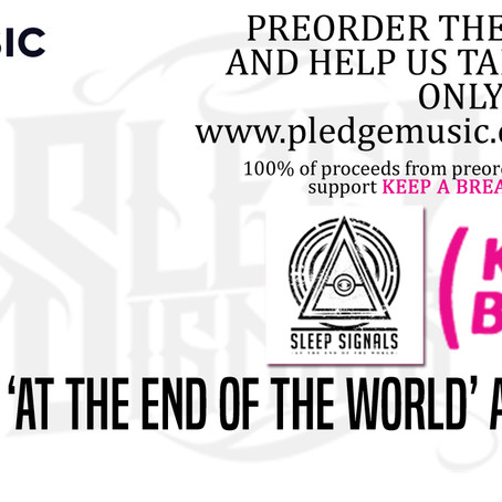 SLEEP SIGNALS announce pre-order for new album; Proceeds donated to Keep A Breast Foundation!