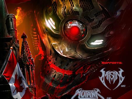 WACKEN Metal Battle + Long & McQuade sponsor ANNIHILATOR's 1st Canadian tour in over 20 year