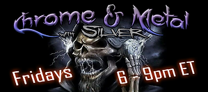 Chrome & Metal with Silver Banner