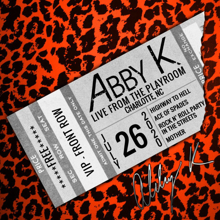 ABBY K Releases 'Live from the Playroom' EP with TLG Entertainment/INgrooves