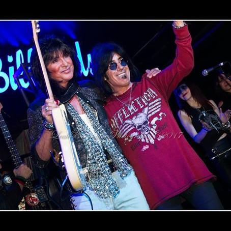 PUNKY MEADOWS and FRANK DIMINO of ANGEL together for 1st time in over 30 years