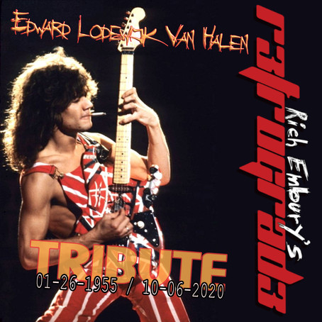 5-Hour EDDIE VAN HALEN Tribute (Friday 10/09) - Rich Embury's R3TROGRAD3