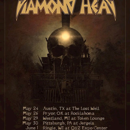 DIAMOND HEAD return to North America for selected dates including ROCKLAHOMA