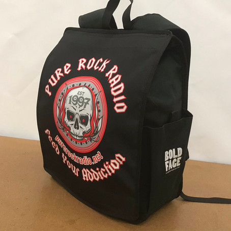 WIN a one of a kind Pure Rock Radio BACKPACK from Boldface Gear!!