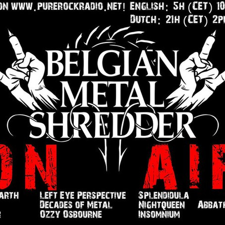 Belgian Metal Shredder: 10 Jan. 2020 (Dutch)