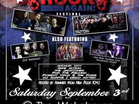 HAIL SAGAN set to play MAKE AMERICA ROCK AGAIN Festival