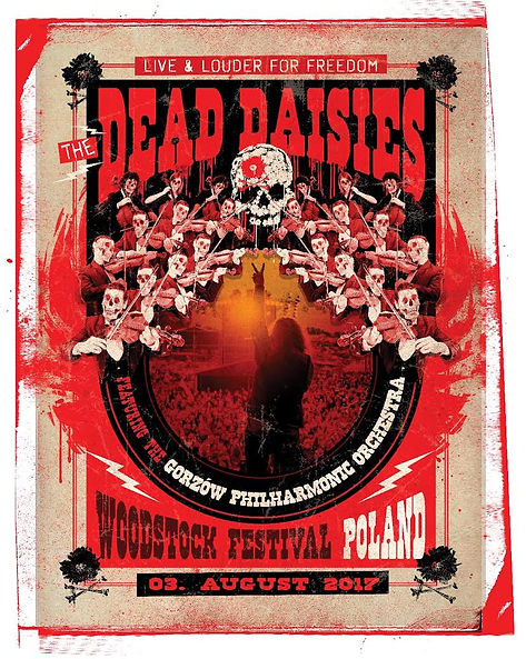 THE DEAD DAISIES to rock Woodstock (Poland) w/Gorzow