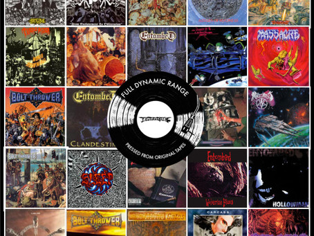 CARCASS 'Heartwork' and NAPALM DEATH 'Scum' full dynamic range vinyl reissues out no