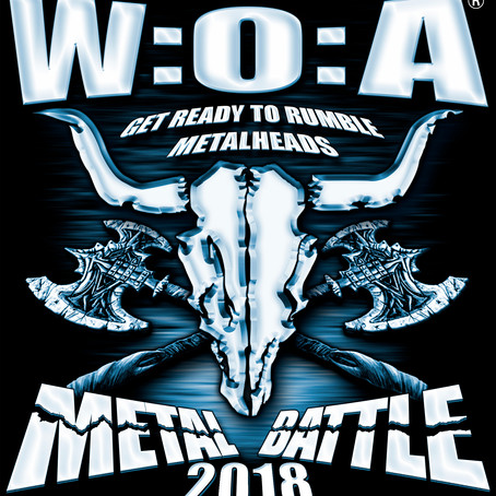 Reminder - 2 days left! WACKEN METAL BATTLE CANADA 2018 band submission deadline Dec. 29th