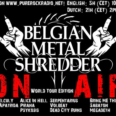 Belgian Metal Shredder: World Tour Editie (Dutch/Nederlandse)