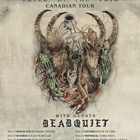 Vancouver's ANCIIENTS announce Canadian tour dates! 'Voice Of The Void' out now!