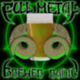 Full Metal Brewer Radio Logo