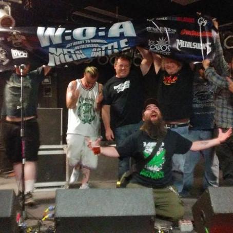 CORPSE HOARDER win 2017 Wacken Metal Battle USA final!