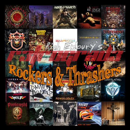 Rich Embury's R3TROGRAD3: Rockers & Thrashers (New Music Showcase)