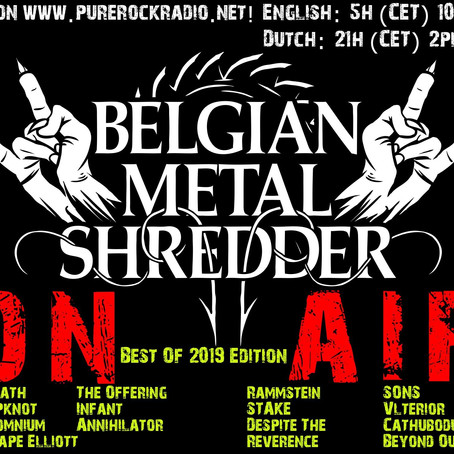 Belgian Metal Shredder: Best of 2019! (Nederlandse Versie)