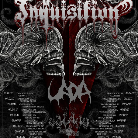 INQUISITION add US tour dates, announce headlining Latin American tour