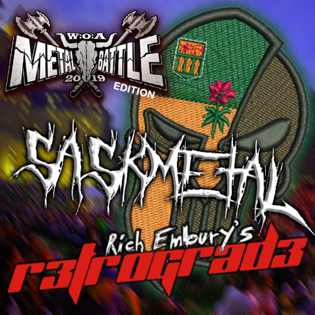 Rich Embury's R3TROGRAD3: Robyn Dolezsar (Diehearted) + SaskMetal - Wacken Battle Edition