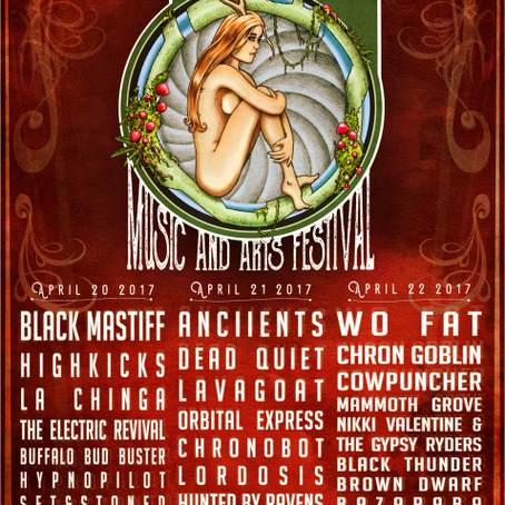 Calgary's 420 MUSIC & ARTS FESTIVAL announce concert line up w/ WO FAT, ANCIIENTS, BLACK MASTIFF