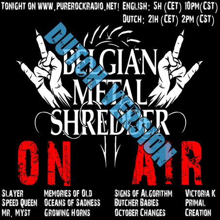 Belgian Metal Shredder: Slayer/Butcher Babies/Victoria K. & More (Dutch Versie)