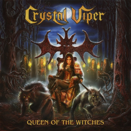 CRYSTAL VIPER are back! New album out February; Cover art revealed!