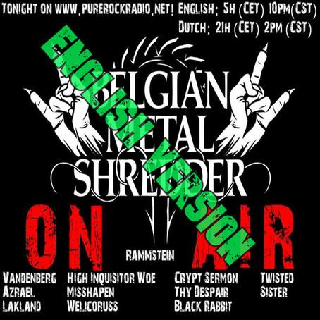 Belgian Metal Shredder: Metal for the Coronacrisis! (English)