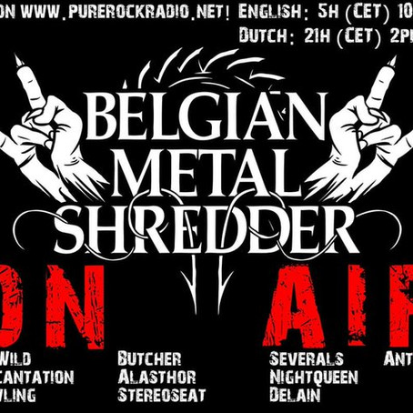 Belgian Metal Shredder: 24 Jan. 2020 (Dutch/Nederlandse)